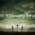 Monday – Death is Coming for Jesus